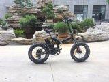 20 pouces - graisse à grande vitesse de haute énergie pliant le vélo électrique Ebike