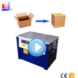 Halfautomatische het Vastbinden Machine voor Doos