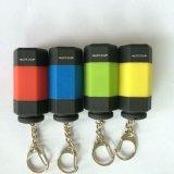 Mini USB chaveiro lanterna LED Mini USB com tochas de luz chaveiro