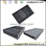 Radiatore di alluminio dell'espulsione di Pettine-Figura del materiale da costruzione