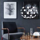아크릴 흑백 교판 샹들리에 Project&#160를 위한 현대 LED 샹들리에 램프;