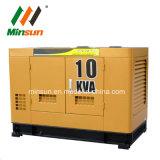 力10kVA 8kwの三相発電機のディーゼル無声