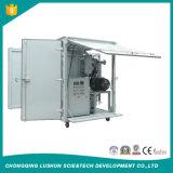 purificador de petróleo de dos etapas del vacío de la eficacia alta 3000L/H para el petróleo del transformador