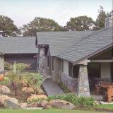 ライト級選手のとらわれのタイプ多彩な石の上塗を施してある金属の屋根瓦