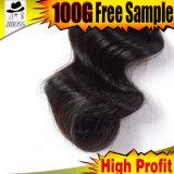 Point culminant brésilien bon marché de bonne qualité de cheveu de point culminant