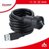 Wholesale PUERTO USB de tipo IP65 Un conector de montaje en panel