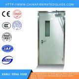 Puerta cortafuego de acero modificada para requisitos particulares de la dimensión