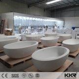 Nuevo modelo de superficie sólida de acrílico baño bañera