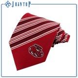 Heißes Mann-Seide-Krawatte des Slae Zoll-100% gesponnene