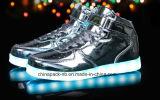 Высокой Моды лодыжки повседневный светодиодный индикатор обувь