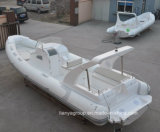 Da fibra de vidro profunda da casca de Liya 8.3m China barco inflável rígido V