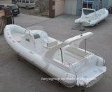 Liya 8.3m China tiefes V Rumpf-Fiberglas-steifes aufblasbares Boot