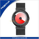 Minlanese鋼鉄ストラップのスペシャル・イベント手の回転ダイヤルの腕時計無し