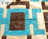 Panno di alta qualità del sofà del jacquard del reticolo rettangolare 2016 (FTH31614)