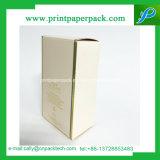 Напечатанная таможней коробка бумажного дух упаковывая с ясным окном