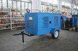 de Dieselmotor die van de Compressor van de Lucht van 185cfm Draagbare Compressor ontginnen Verkoop