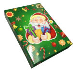 Boîte à sucrerie de papier de coupure de laser de prix bas de qualité pour Noël