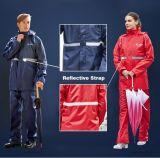 2018년 폴리에스테 방수 PVC 비옷 직물 도매, 비옷을%s 직물