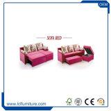 工場ベッドまたは多機能の折るソファーベッド付きの直接現代デザイン高品質のチェスターフィールドのソファー