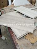 床及び壁のための白い木製の穀物の大理石のタイル