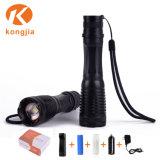 Горячие продажи на открытом воздухе легких Rechargeabe 800lm масштабируемые Xm-L T6 светодиодный фонарик