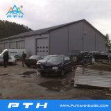 現実的なプレハブの鉄骨構造の倉庫