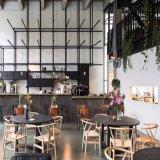 (SL8122) Wishbone di legno nordico Y che pranza presidenza per la mobilia del ristorante