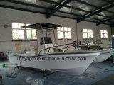 Liya 19metros de profundidade com casco de fibra de vidro utilizados V Panga Barcos de pesca
