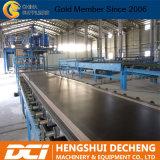 El papel totalmente automática frente fabricante de máquinas de producción de placas de yeso