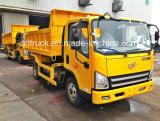 4X2 작은 덤프 트럭 FAW 3 톤 덤프 트럭