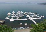 Esportes de água infláveis do parque inflável da água, parque inflável adulto da água do PVC