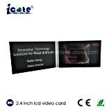 Nombre del vídeo de 2,4 pulgadas para mejorar la reputación de la tarjeta de negocios