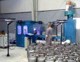 12.5kg/15kg LPGのガスポンプの製造設備のためのラインを金属で処理する亜鉛