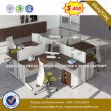 2 sièges directement la station de travail de bureau Bureau du personnel de la partition en cluster (HX-PT14022)