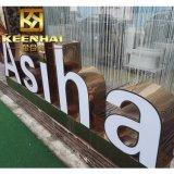 広告のための屋外のステンレス鋼3Dの経路識別文字の印
