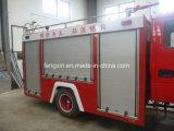 Veículos Especiais de equipamento de controlo de incêndio cortina amovível de liga de alumínio