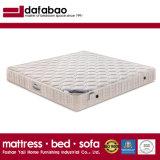 Tejido de alta Non-Glue Tapa con resorte de compresión de algodón con colchón de látex natural para el Hotel la ropa de cama muebles, la FB701