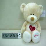 Eco 친절한 발렌타인 빨간 심혼에 의하여 채워지는 연약한 곰