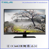 ATSC/Isdbt/DVBT/T2/S2デジタルのホームLED TV 2のチューナー衛星AC/DC TV