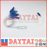 Mini PLC Sc/Upc van de Vezel van het Type Optische 1*16 Splitser