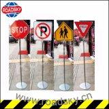 La sécurité routière personnalisé aluminium Panneau d'avertissement réfléchissante