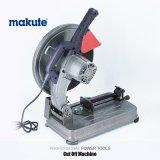 Máquina de corte de aço de Makute 2400W com 355mm
