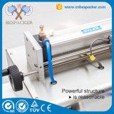 Máquina de embotellado plástica semi automática manual de la máquina de rellenar de la máquina de rellenar