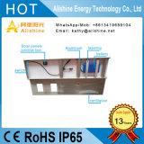 LED 40W, calle la luz solar con silicio monocristalino de alta eficiencia