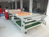 織物印刷のための800*2500mmのローラーの熱の出版物機械