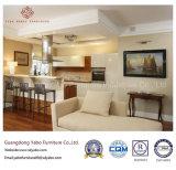Mobília européia do hotel para a sala de estar da entrada com base do sofá (YB-C-11)