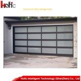 Porte en verre de porte de porte en aluminium de garage avec Ue Stander