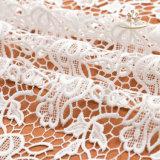 フランス様式ポリエステルかぎ針編みのレースファブリック