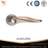 Wenzhou Wooden Door Handle in Aluminum (AL211-ZR05)