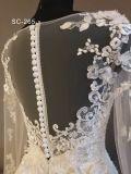 2018 элегантный длинными рукавами мусульманских устраивающих свадебные платья